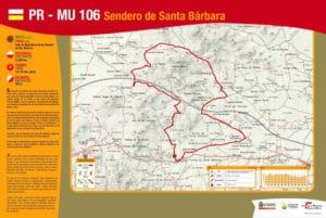PR-MU 106 Sendero de Santa Bárbara (Cartagena)